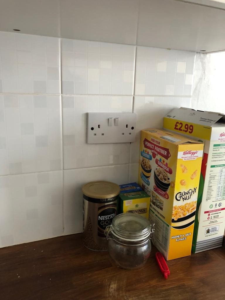 after - New Kitchen Socket Supply & Installation